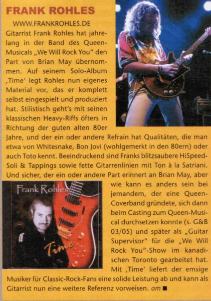 Gitarre & Bass, Ausgabe Januar 2010