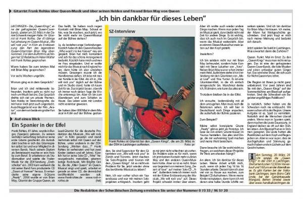 Schwaben Post vom 23.03.2010